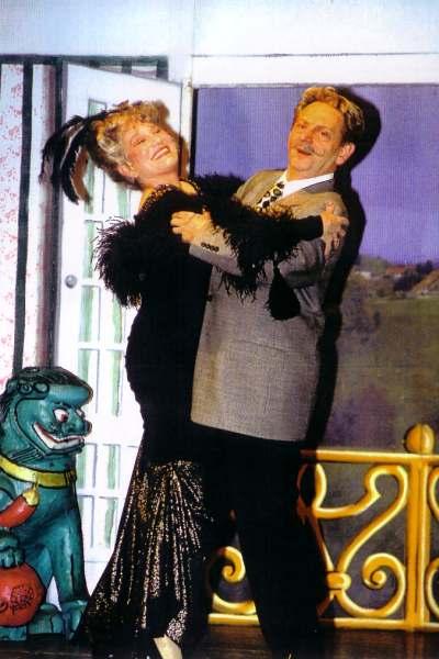 Yvonne mit Franz Lindauer